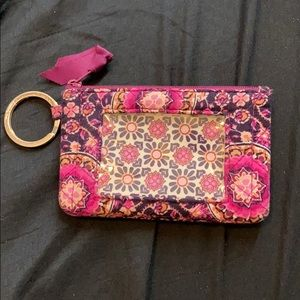 Vera Bradley I'd and card pouch